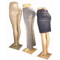 Female Brazilian Mannequin Legs - Plastic Body Form - Display Jeans Pants Skirts