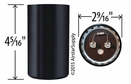 USA Replacement Start Capacitor 216-240 uf MFD 330 360 Volt CPT1881 CPT01881
