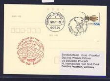 49795) LH  SF Graz - Frankfurt 16.5.2011, stat.card Korea SPA Essen, insect