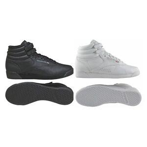 blanc 2240 de chaussures fitness freestyle hi pour 2431 de noir Chaussures cuir sport Reebok femmes en 06qp7gWE8