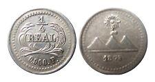 GUATEMALA KM146  1/4 Real 1875 P in VZ+  490113
