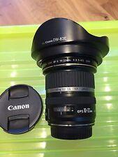 Canon EF-S 10-22mm f/3.5-4.5 USM Wide Angle DSLR camera Lens, fantastic cond
