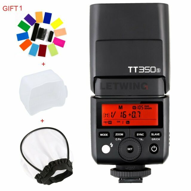 NEW Godox Mini TT350N 2.4G i-TTL Speedlite Flash for Nikon D750 D90 D5300 D5