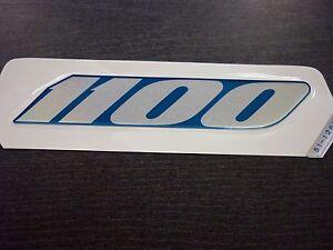 Details Zu Original Schriftzug Aufkleber Blau Silber Für Kawasaki Gpz 1100