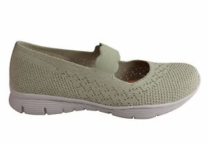 Details about Skechers Womens Seager Power Hitter Comfy Memory Foam Mary Jane Shoes SSA