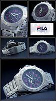 Luxus Mirage-chrongraph Original Fila Uhr Tachymeter Design Arabische Zahlen Neu
