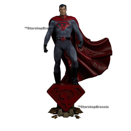 DC COMICS - Superman rojo Son Premium Format Figure 1 4 Statue Sideshow