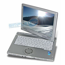 PORTATILE PANASONIC CF-C1 GRADO A WINDOWS 7 ORIGINALE i5 4GB Toughbook Touch