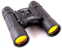 Jäger Fernglas 12x30 zusammenklappbar klappbar Feldstecher schwarz binocular