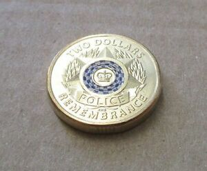 AUSTRALIAN-2019-NATIONAL-POLICE-REMEMBRANCE-DAY-2-00-DOLLAR-COIN-LOW-MINTAGE