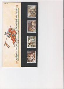 1985-ROYAL-MAIL-PRESENTATION-PACK-ARTHURIAN-LEGEND-MINT-DECIMAL-STAMPS