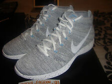 NIKE LUNAR FLYKNIT CHUKKA HTM SP US 10.5 UK 9.5 44.5 WHITE SNOW GREY MIXTURE