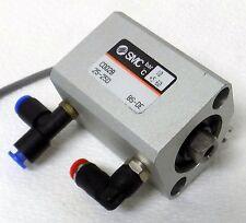 SMC CDQ2B 25-25D BS-DE 10 bar PNEUMATIC AIR CYLINDER ASSEMBLY SMC D-A73 ENCODER