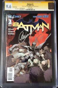 DC-Comics-BATMAN-1-CGC-SS-9-6-NM-Snyder-Capullo-GOTHAM-JOKER-CATWOMAN-HARLEY
