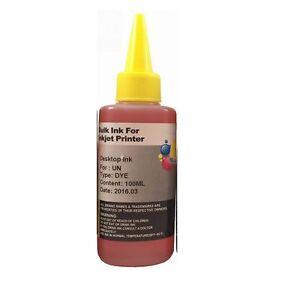 100ml-Yellow-bulk-refill-ink-for-HP-inkjet-printer