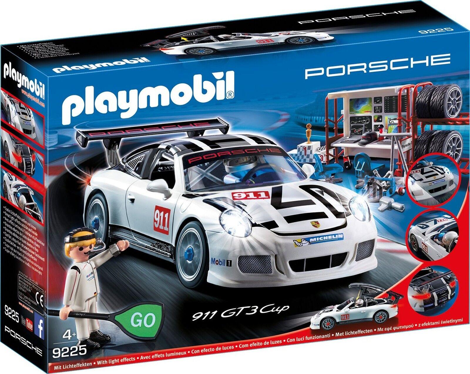PLAYMOBIL 9225 - Porsche 911 GT3 Cup avec le poste  de comhommedeHommest & beaucoup d'accessoires nouveau  nouveau sadie