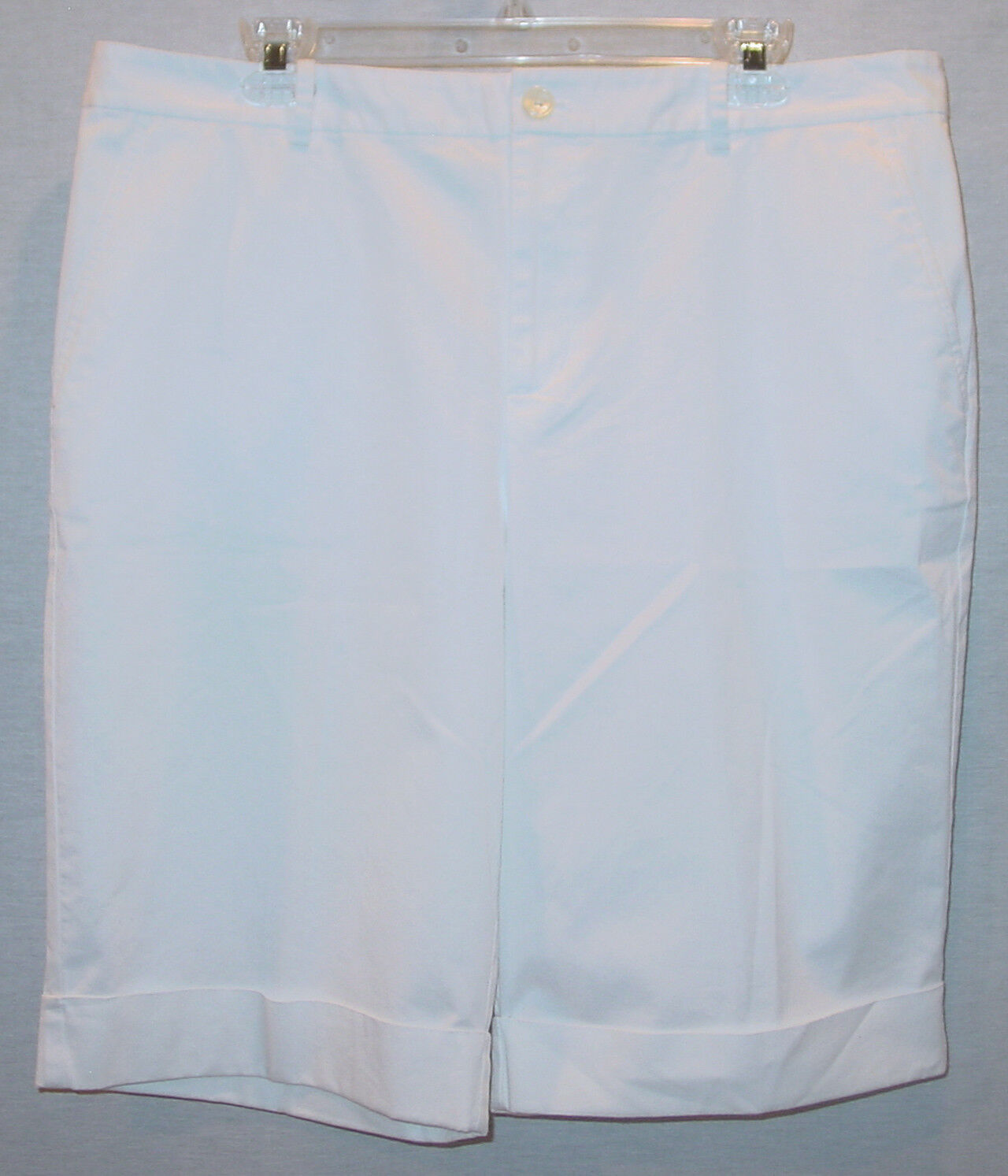 RALPH LAUREN LADIES WHITE BERMUDA   WALKING SHORTS NEW WITH TAGS