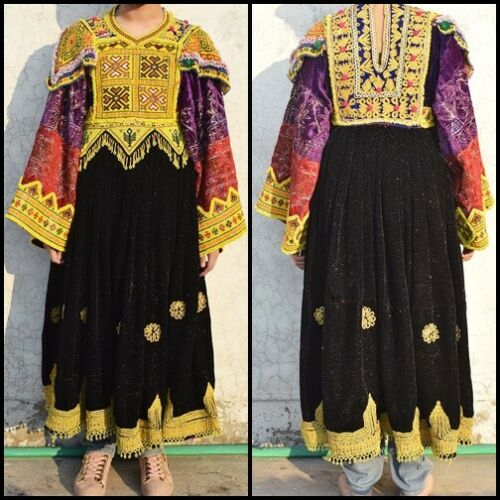 Ethnic traditional Nomad costume afghan Tribal dan