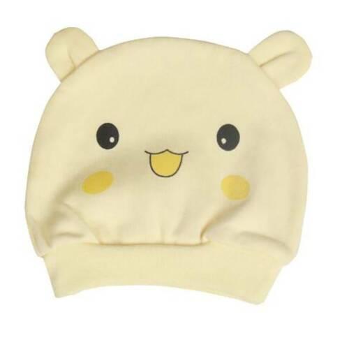 Smiley Pattern Newborn Baby Cotton Styling Cap Baby Hat Child Cap W