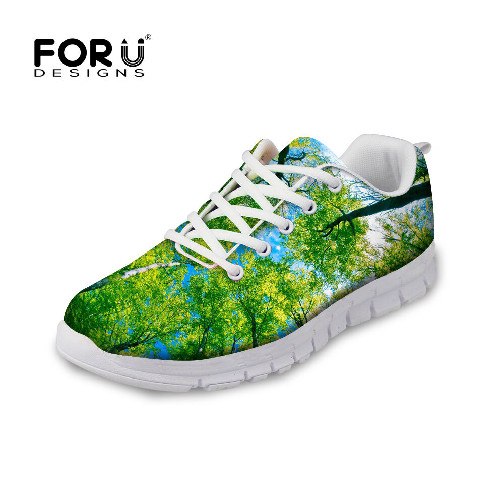 NEW Lady Women Flat Lace Up Jogging Trainer Running shoes Sport Fashion Sneakers