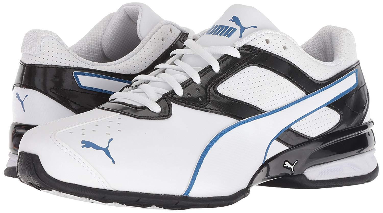 hommes Chaussures PUMA Tazon 6 FM Run Train Sneakers 189873-22 blanc / noir New
