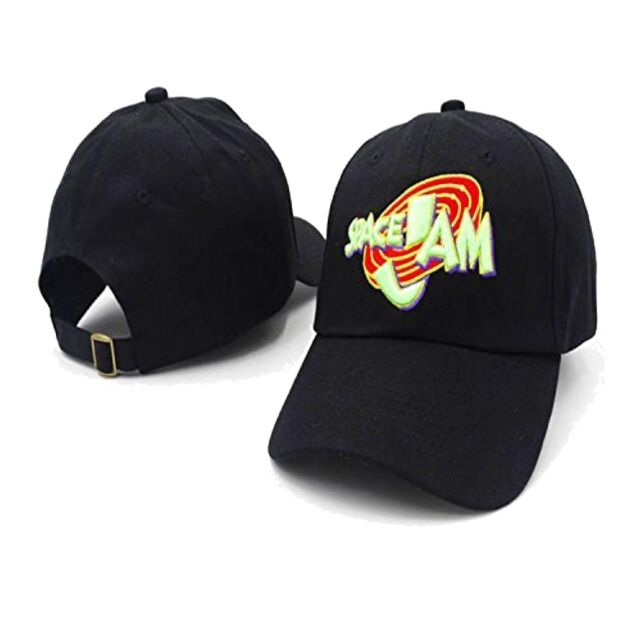 aaedc19b Space Jam Baseball Cap Movie Hat Michael Jordan Basketball Tune Squad 90s  Dad