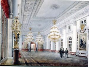 POSTCARD-THE-GREAT-HALL-IN-THE-WINTER-PALACE-IN-ST-PETERSBURG-RUSSIA