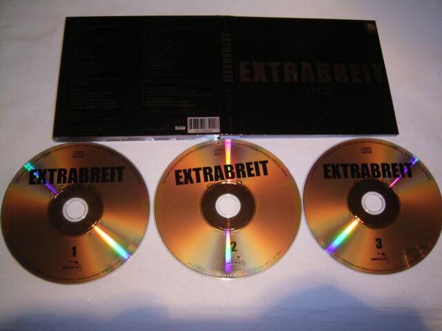 3 CD - Extrabreit Gold - Digipak # G4