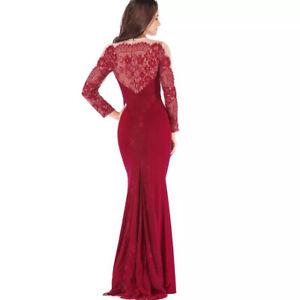 cec5d669c1b2 Details about Vestidos De Fiesta Largos Ropa De Moda Para Mujer Prom  Elegantes Boda Quinces