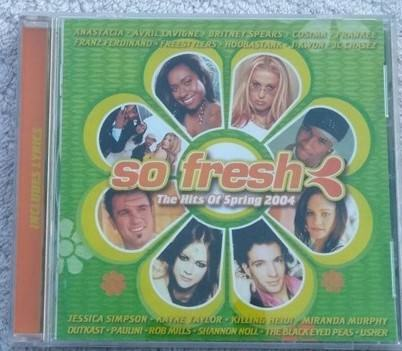 So Fresh the Hits of Spring 2004 cd various artists compilation