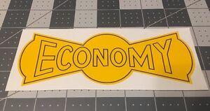 "Sears & Roebuck Economy Hit N Miss Bow Tie Decal 6 1/2"""