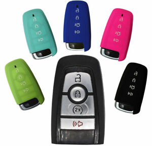Ford Key Fob Keyless Entry Silicone Rubber Remote Cover Ranger Mustang Edge 2019 Ebay
