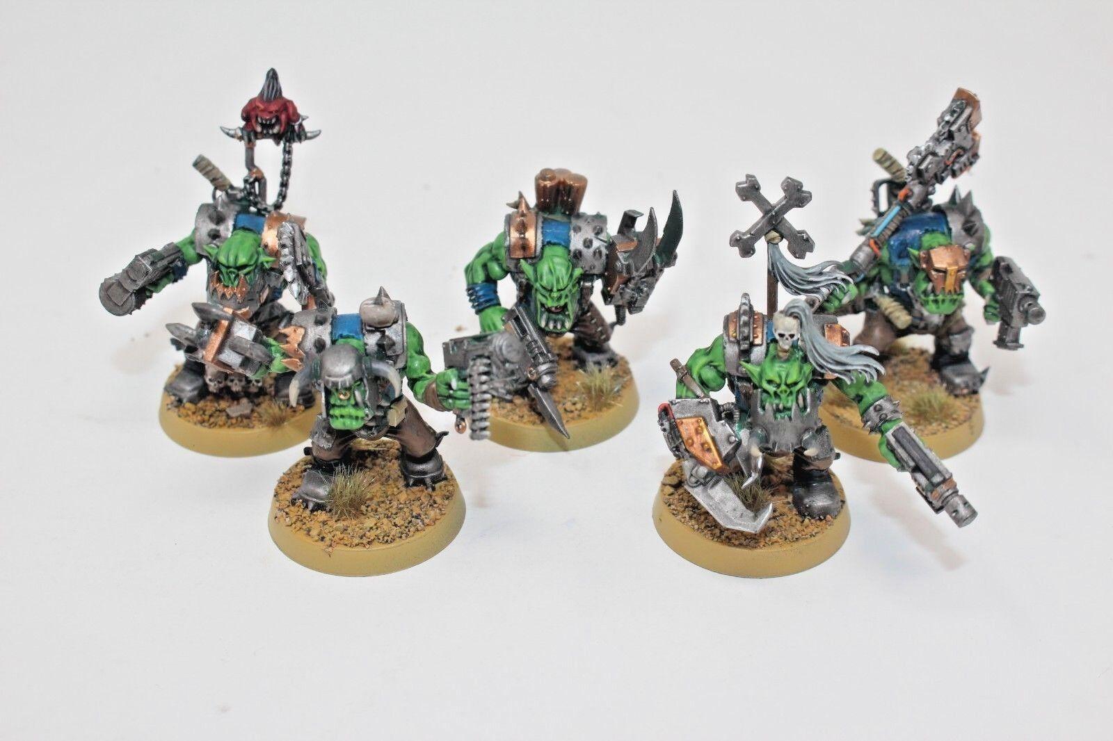 Warhammer Ork Nobs Well Painted  - JYS16  miglior servizio