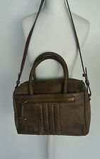 Bnwt Allsaints RALLY BOWLING BAG(small)chocolate. leather.£298