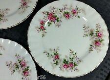 Royal  Albert Lavender Rose 8ins Salad Plates x 6  RARE
