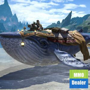 Details about FINAL FANTASY XIV Item: FF14 Mount FFXIV Indigo Whale  (Account-wide)