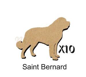 10 Saint Bernard MDF découpes Porte-clés-enjoliver 5 Tailles Sans Trou dogw 191-ishing 5 SIZES FREE Hole DOGW191afficher le titre d`origine D6PTpq97-07202829-407916681