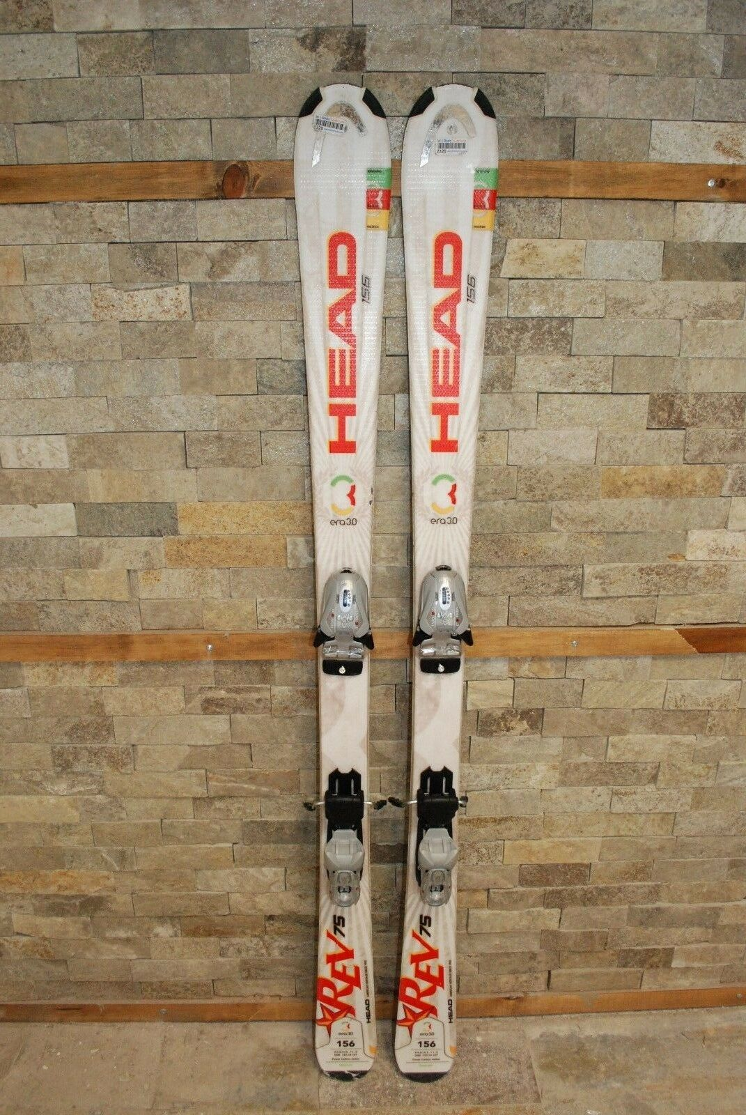HEAD REV 75R 75R 75R 156 cm Ski + BRAND NEW Marker EPS Mod 9.0 Bindings 2c079d