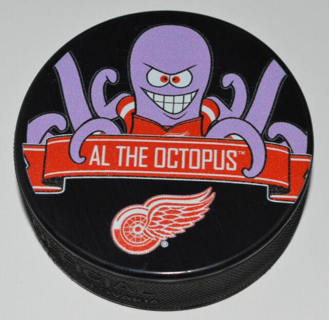Detroit red wings mascot al the octopus team logo souvenir hockey detroit red wings mascot al the octopus team logo souvenir hockey puck nhl new voltagebd Gallery