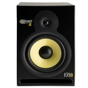 GREAT-KRK-ROKIT-8-POWERED-STUDIO-MONITOR-WITH-POWER-CABLE