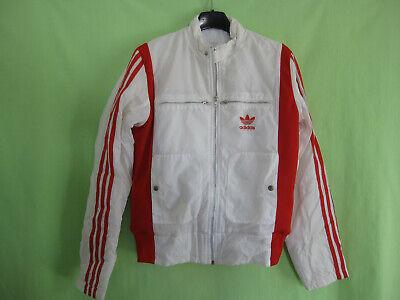 Veste Adidas Blouson Originals Trefoil Jacket Femme style vintage 38 40 | eBay