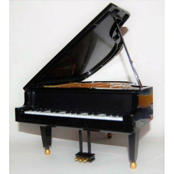negro piano clasico Furniture diorama for 1 6 doll Barbie Momoko Azone mini BJD