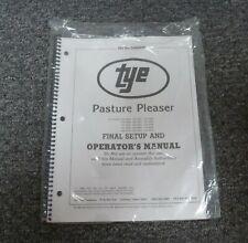 Tye 104 4504 Pasture Pleaser No Till Drill Final Setup Amp Owner Operator Manual