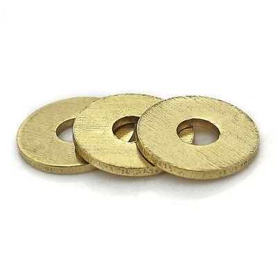 10PCS-100PCS Brass Flat Washers M2-M20
