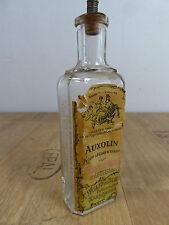 Antike Flasche Haarwasser AUXOLIN Wolf&Sohn Karlsruhe Jugendstil 1900 Dresden