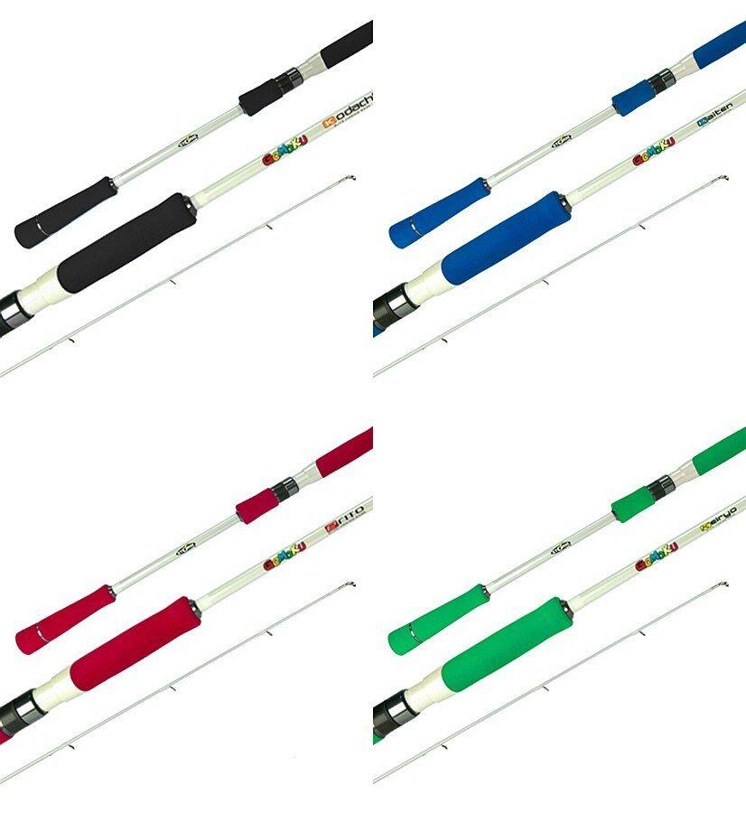 Storm Gomoku Baitcaster Micro Jigging Fishing Rod ERITO 6' 1 Piece PE 0.81.5