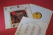 SAN 162 Carl Orff Carmina Burana Popp Unger NPO de Burgos HMV ANGEL STEREO LP