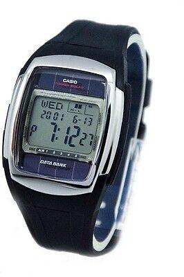 Casio DBE30-1A Mens Tough Solar 50M Telememo Digital Databank Watch Resin