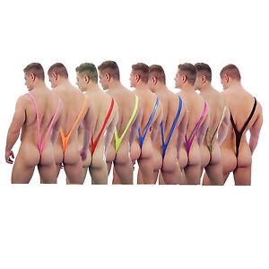 4ad86e914ed312 Image is loading New-Novelty-Men-Borat-Style-Mankini-Underwear-Lingerie-