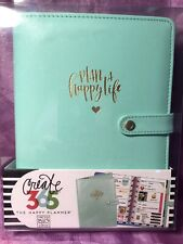 The Happy Planner Deluxe Cover Mint Mini Create 365 Plan A Happy Life Nwt